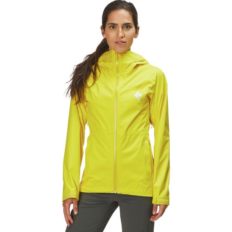 Geaca Black Diamond Stormline Stretch Woman Sunflare Black Diamond - 1