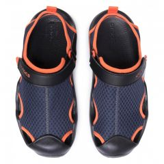 Slapi Crocs Swiftwater Mesh Deck Crocs - 4