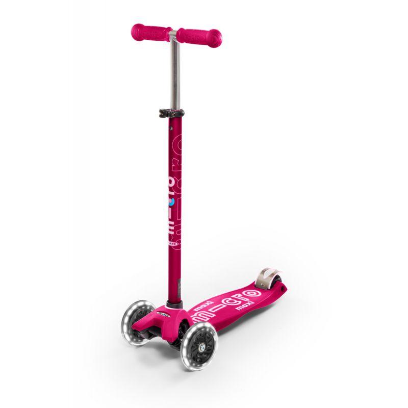 Trotineta Maxi Micro Deluxe Pink Led Micro - 1