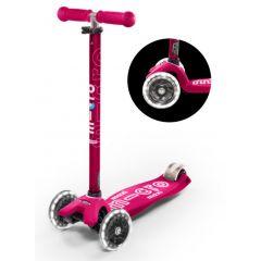 Trotineta Maxi Micro Deluxe Pink Led Micro - 7