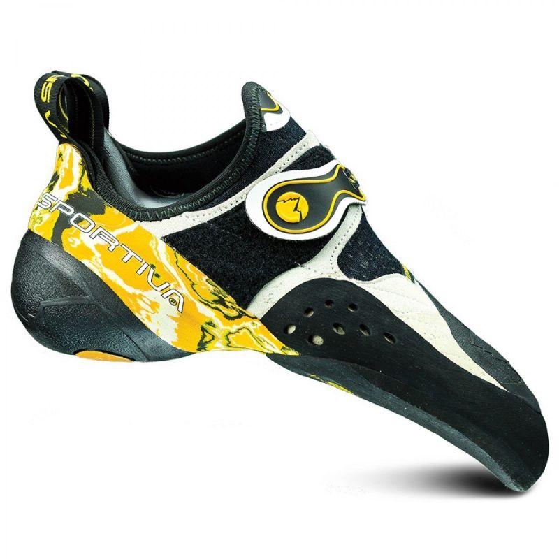 Papuci de catarare La Sportiva Solution White Yellow