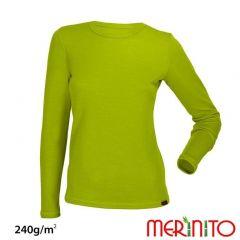 Tricou de dama Merinito merino si bambus 240g pe mp