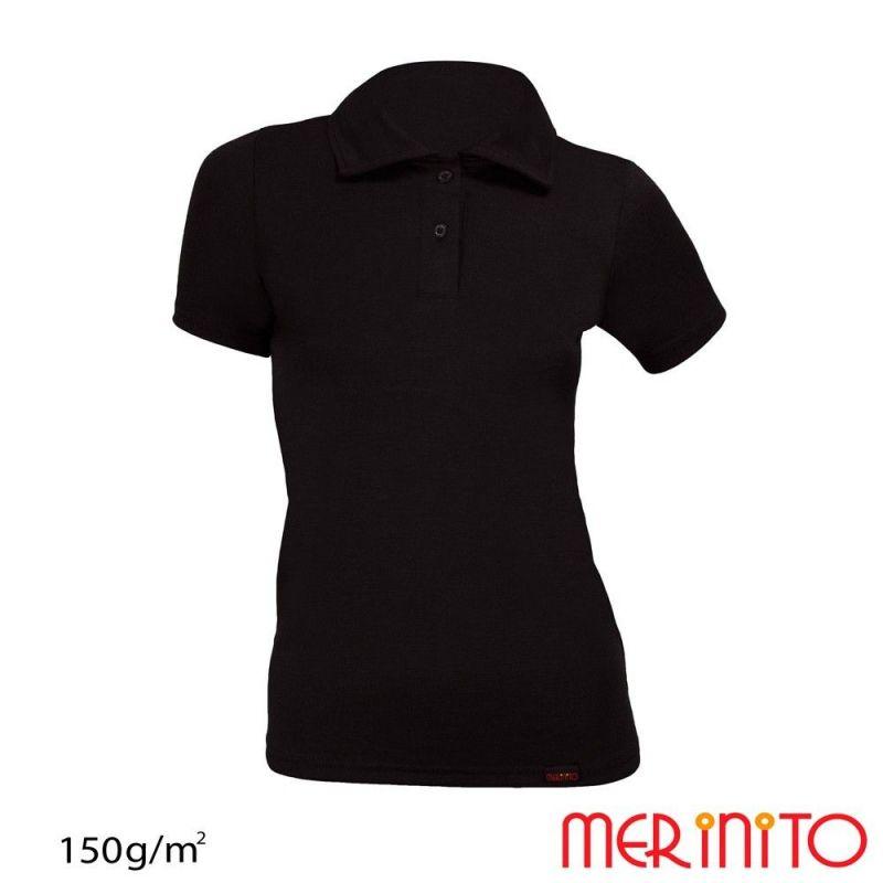 Tricou de dama Merinito Polo 150 grame Merinito - 1