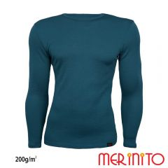 Tricou barbatesc Merinito maneca lunga 200g Merinito - 1