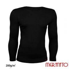 Tricou barbatesc Merinito maneca lunga 200g Merinito - 2