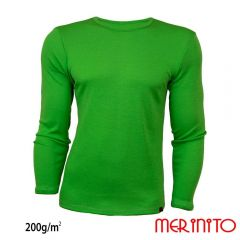 Tricou barbatesc Merinito maneca lunga 200g Merinito - 4