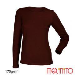 Tricou dama Merinito maneca lunga 170g Merinito - 4