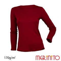 Tricou dama Merinito maneca lunga 170g Merinito - 5