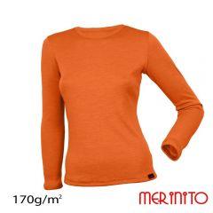 Tricou dama Merinito maneca lunga 170g Merinito - 6