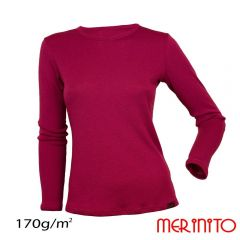 Tricou dama Merinito maneca lunga 170g Merinito - 7