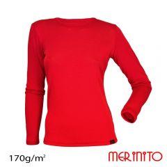 Tricou dama Merinito maneca lunga 170g Merinito - 8