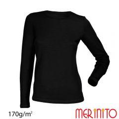 Tricou dama Merinito maneca lunga 170g Merinito - 9