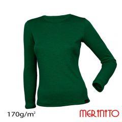 Tricou dama Merinito maneca lunga 170g Merinito - 10