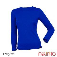 Tricou dama Merinito maneca lunga 170g