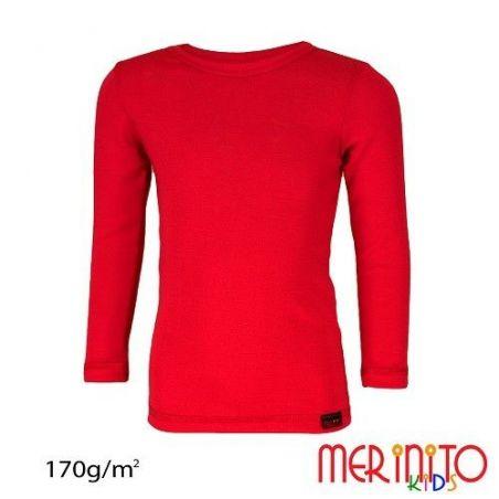 Tricou maneca lunga Merinito 170g copii Merinito - 2