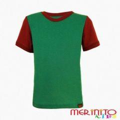 Tricou copii maneca scurta  Merinito - 1