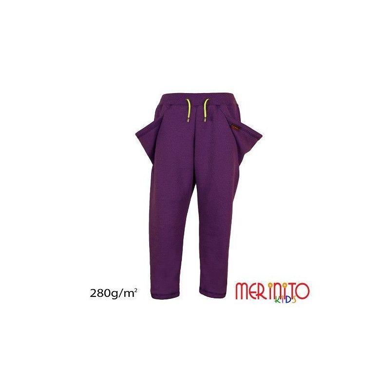 """Pantaloni copii Merinito buzunare """"Triunghi"""" Merinito - 1"""