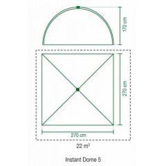 Cort Coleman Instant Dome 5 Coleman - 5