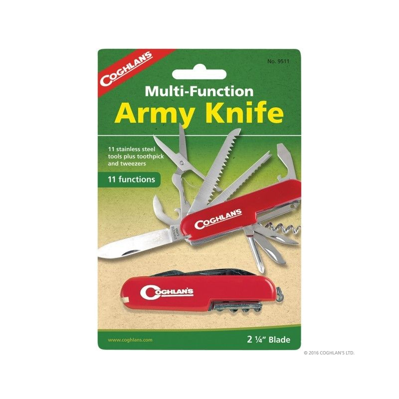Briceag multifunctional Army 11 functii Coghlans Coghlans - 1