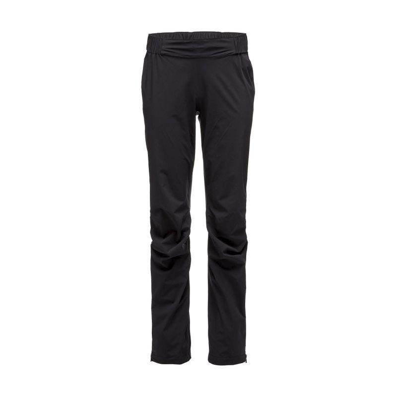 Pantaloni impermeabili Black Diamond Stormline Stretch Rain woman Black Diamond - 1
