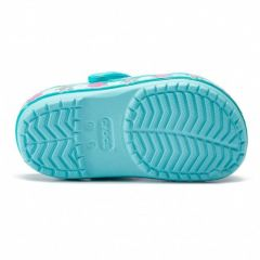 Slapi Crocs  FL Mermaid Band Clog Ice Blue