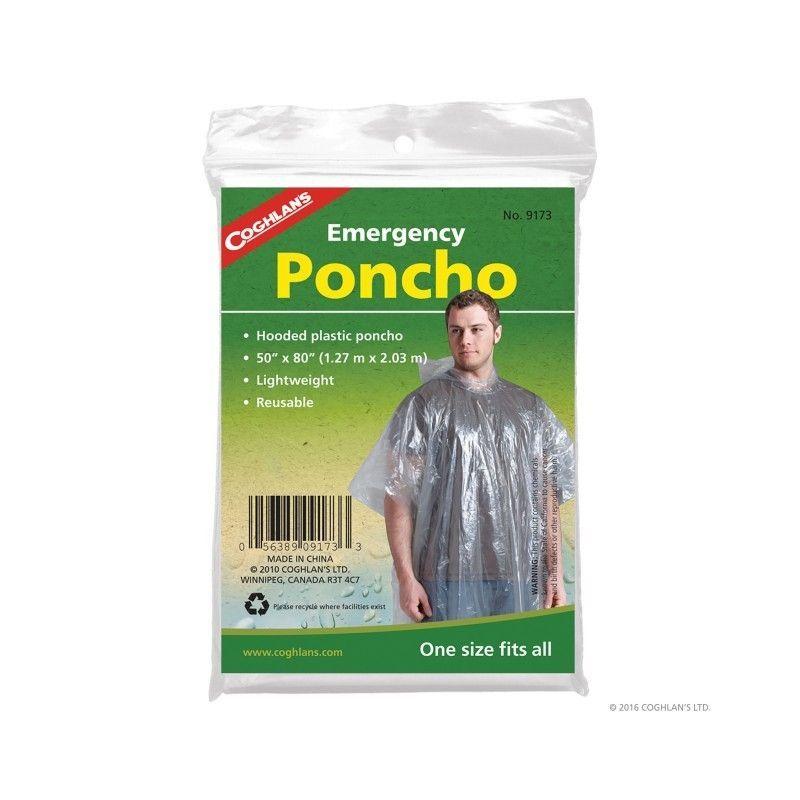 Poncho transparent pentru ploaie Coghlans Coghlans - 1
