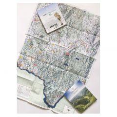 Harta de drumete Muntii Almajului