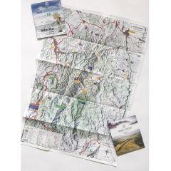 Harta de drumetie Muntii Semenic