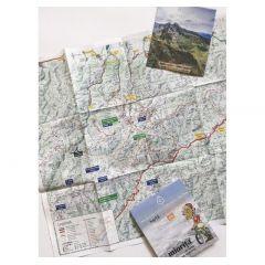 Harta de drumetie Muntii Retezat-Godeanu Miorita - 1