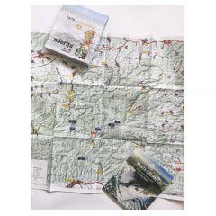 Harta de drumetie Muntii Poiana Rusca