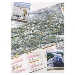 Harta cicloturistica Muntii Sureanu