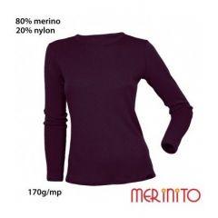 Tricou dama Merinito maneca lunga 170g Merinito - 11