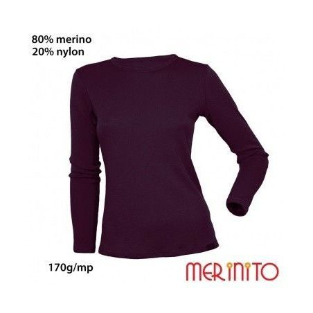 Tricou dama Merinito maneca lunga 170g Merinito - 1