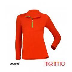 Bluza Merinito Sport Zip merino 200 grame