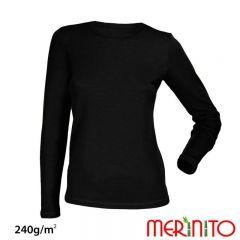 Tricou de dama Merinito merino si bambus 240g pe mp Merinito - 2