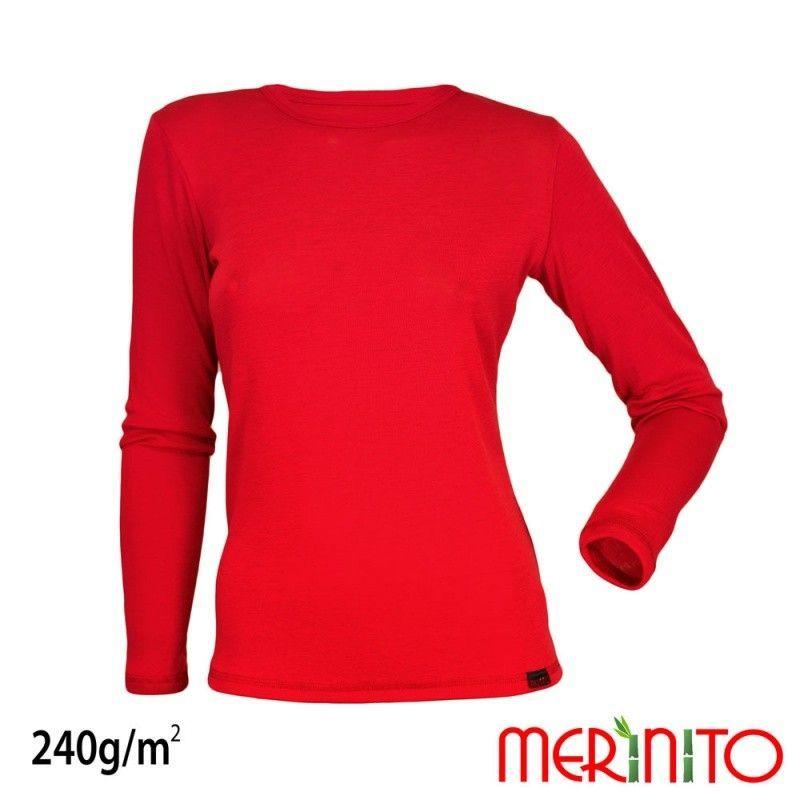 Tricou de dama Merinito merino si bambus 240g pe mp Merinito - 1