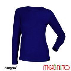 Tricou de dama Merinito merino si bambus 240g pe mp Merinito - 3