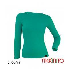 Tricou de dama Merinito merino si bambus 240g pe mp Merinito - 4