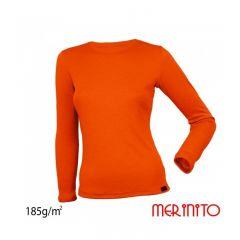 Bluza dama Merinito maneca lunga 185g/mp